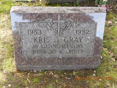 GRAY, KRIS A. - Marquette County, Michigan | KRIS A. GRAY - Michigan Gravestone Photos