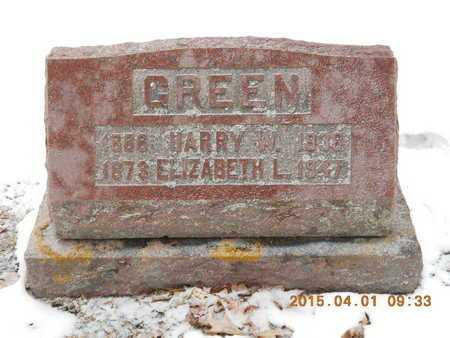 GREEN, ELIZABETH L. - Marquette County, Michigan | ELIZABETH L. GREEN - Michigan Gravestone Photos