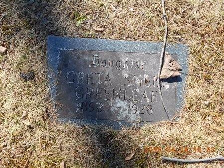 GREENLEAF, GRETA - Marquette County, Michigan | GRETA GREENLEAF - Michigan Gravestone Photos