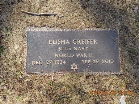 GREIFER, ELISHA - Marquette County, Michigan | ELISHA GREIFER - Michigan Gravestone Photos