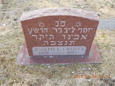 GREIFER, JOSEPH L. - Marquette County, Michigan   JOSEPH L. GREIFER - Michigan Gravestone Photos