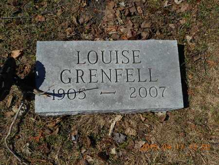 GRENFELL, LOUISE - Marquette County, Michigan | LOUISE GRENFELL - Michigan Gravestone Photos