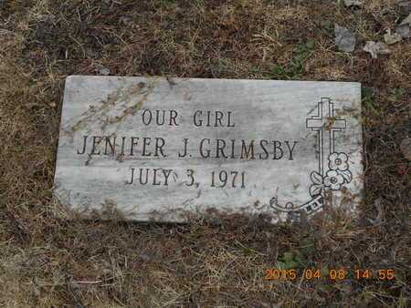 GRIMSBY, JENNIFER J. - Marquette County, Michigan | JENNIFER J. GRIMSBY - Michigan Gravestone Photos