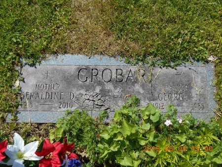 GROBAR, GEORGE J. - Marquette County, Michigan | GEORGE J. GROBAR - Michigan Gravestone Photos