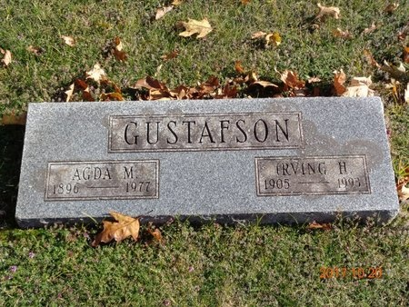 GUSTAFSON, IRVING H. - Marquette County, Michigan | IRVING H. GUSTAFSON - Michigan Gravestone Photos