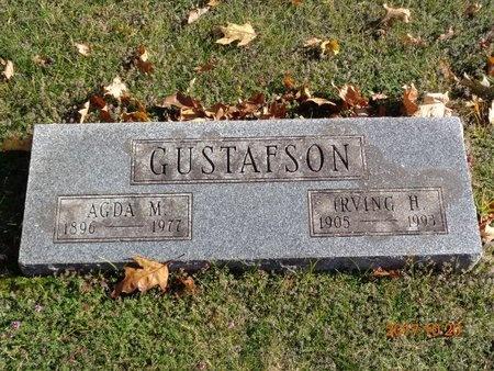 GUSTAFSON, AGDA M. - Marquette County, Michigan | AGDA M. GUSTAFSON - Michigan Gravestone Photos