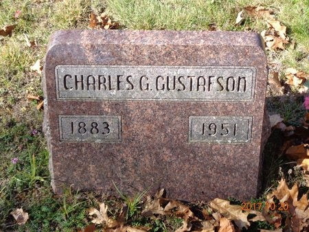 GUSTAFSON, CHARLES G. - Marquette County, Michigan | CHARLES G. GUSTAFSON - Michigan Gravestone Photos