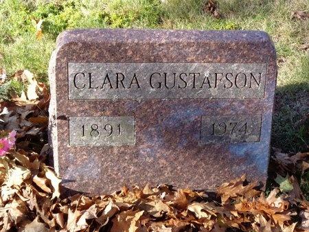 GUSTAFSON, CLARA - Marquette County, Michigan   CLARA GUSTAFSON - Michigan Gravestone Photos