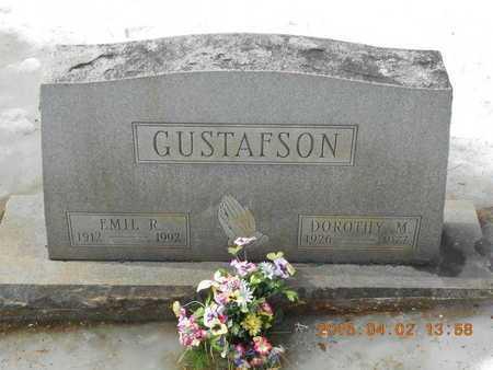 GUSTAFSON, DOROTHY M. - Marquette County, Michigan   DOROTHY M. GUSTAFSON - Michigan Gravestone Photos