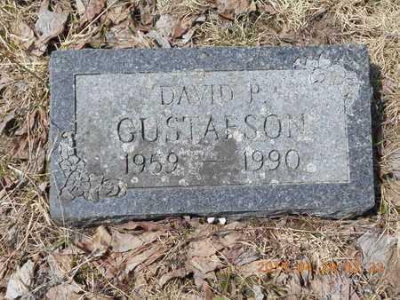 GUSTAFSON, DAVID P. - Marquette County, Michigan | DAVID P. GUSTAFSON - Michigan Gravestone Photos