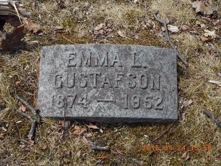 GUSTAFSON, EMMA L. - Marquette County, Michigan | EMMA L. GUSTAFSON - Michigan Gravestone Photos