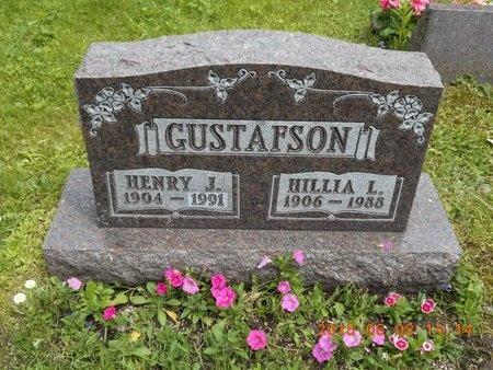 GUSTAFSON, HENRY J. - Marquette County, Michigan | HENRY J. GUSTAFSON - Michigan Gravestone Photos