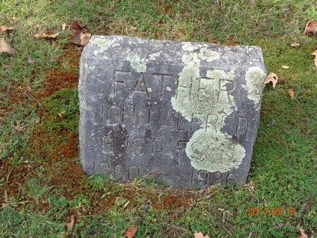 GUSTAFSON, JOHN ALFRED - Marquette County, Michigan | JOHN ALFRED GUSTAFSON - Michigan Gravestone Photos