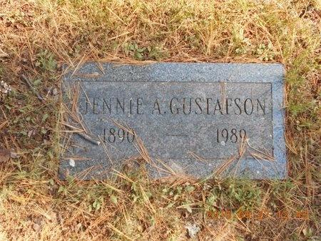 GUSTAFSON, JENNIE A. - Marquette County, Michigan | JENNIE A. GUSTAFSON - Michigan Gravestone Photos