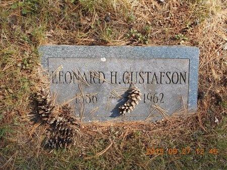 GUSTAFSON, LEONARD H. - Marquette County, Michigan   LEONARD H. GUSTAFSON - Michigan Gravestone Photos