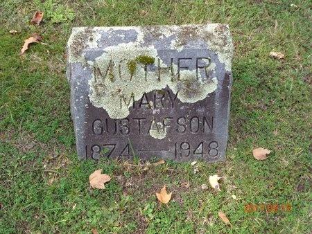 GUSTAFSON, MARY - Marquette County, Michigan   MARY GUSTAFSON - Michigan Gravestone Photos