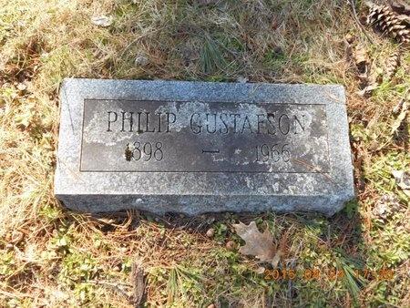 GUSTAFSON, PHILIP - Marquette County, Michigan   PHILIP GUSTAFSON - Michigan Gravestone Photos