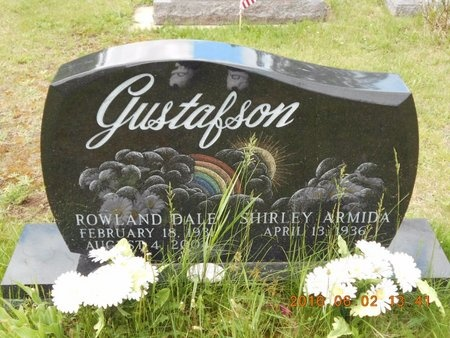 GUSTAFSON, SHIRLEY ARMIDA - Marquette County, Michigan | SHIRLEY ARMIDA GUSTAFSON - Michigan Gravestone Photos