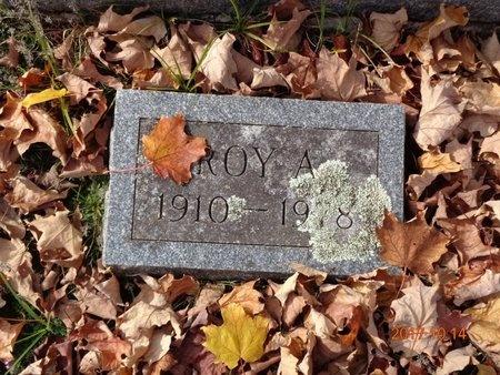 GUSTAFSON, ROY A. - Marquette County, Michigan   ROY A. GUSTAFSON - Michigan Gravestone Photos
