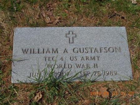 GUSTAFSON, WILLIAM A. - Marquette County, Michigan | WILLIAM A. GUSTAFSON - Michigan Gravestone Photos