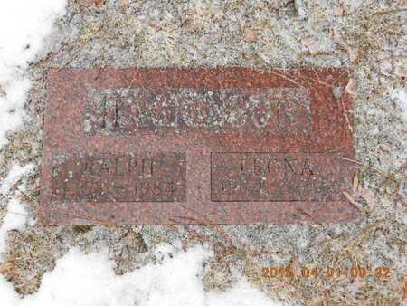 HACKINSON, RALPH - Marquette County, Michigan   RALPH HACKINSON - Michigan Gravestone Photos