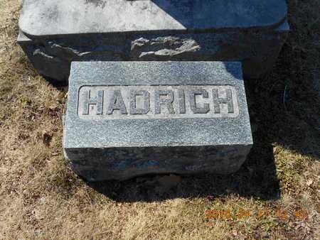 HADRICH, FAMILY - Marquette County, Michigan | FAMILY HADRICH - Michigan Gravestone Photos