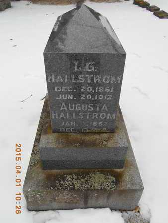HALLSTROM, AUGUSTA - Marquette County, Michigan   AUGUSTA HALLSTROM - Michigan Gravestone Photos