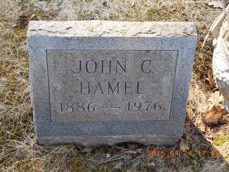 HAMEL, JOHN C. - Marquette County, Michigan   JOHN C. HAMEL - Michigan Gravestone Photos