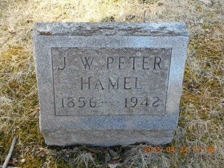 HAMEL, J.W. PETER - Marquette County, Michigan | J.W. PETER HAMEL - Michigan Gravestone Photos