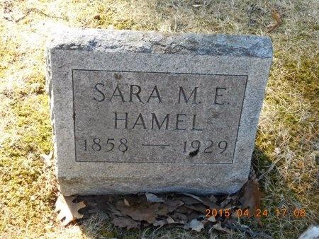 HAMEL, SARAH M.E. - Marquette County, Michigan | SARAH M.E. HAMEL - Michigan Gravestone Photos