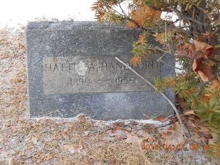 HANDFORD, HATTIE A. - Marquette County, Michigan   HATTIE A. HANDFORD - Michigan Gravestone Photos
