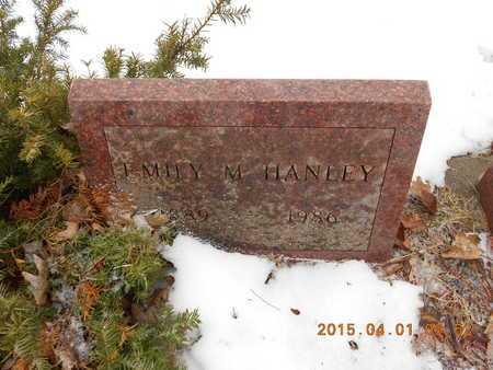 HANLEY, EMILY M. - Marquette County, Michigan | EMILY M. HANLEY - Michigan Gravestone Photos