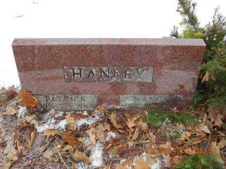 HANLEY, PATRICK - Marquette County, Michigan | PATRICK HANLEY - Michigan Gravestone Photos