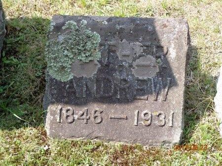 HANSEN, ANDREW - Marquette County, Michigan | ANDREW HANSEN - Michigan Gravestone Photos