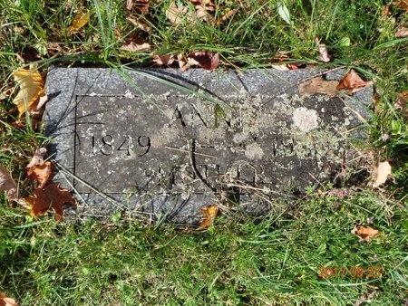HANSEN, ANNE - Marquette County, Michigan | ANNE HANSEN - Michigan Gravestone Photos
