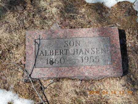 HANSEN, ALBERT - Marquette County, Michigan   ALBERT HANSEN - Michigan Gravestone Photos