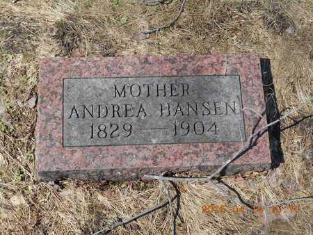 HANSEN, ANDREA - Marquette County, Michigan   ANDREA HANSEN - Michigan Gravestone Photos