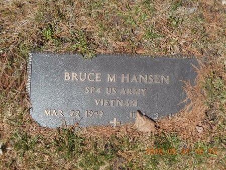HANSEN, BRUCE M. - Marquette County, Michigan   BRUCE M. HANSEN - Michigan Gravestone Photos