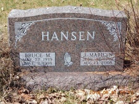 HANSEN, BRUCE M. - Marquette County, Michigan | BRUCE M. HANSEN - Michigan Gravestone Photos
