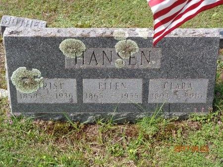 HANSEN, CHRIST - Marquette County, Michigan   CHRIST HANSEN - Michigan Gravestone Photos