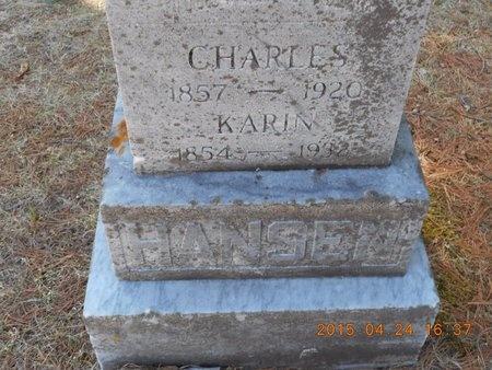 HANSEN, KARIN - Marquette County, Michigan | KARIN HANSEN - Michigan Gravestone Photos