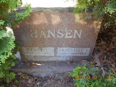 HANSEN, DEWEY L. - Marquette County, Michigan   DEWEY L. HANSEN - Michigan Gravestone Photos