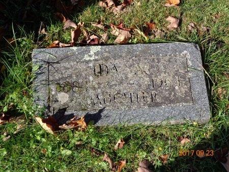 HANSEN, IDA AMELIA - Marquette County, Michigan | IDA AMELIA HANSEN - Michigan Gravestone Photos