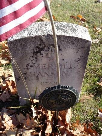 HANSEN, J. MERRILL - Marquette County, Michigan   J. MERRILL HANSEN - Michigan Gravestone Photos