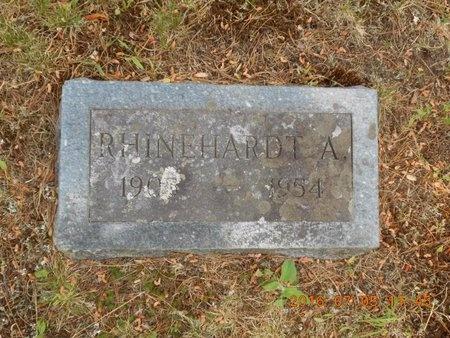 HANSEN, RHINEHARDT A. - Marquette County, Michigan   RHINEHARDT A. HANSEN - Michigan Gravestone Photos