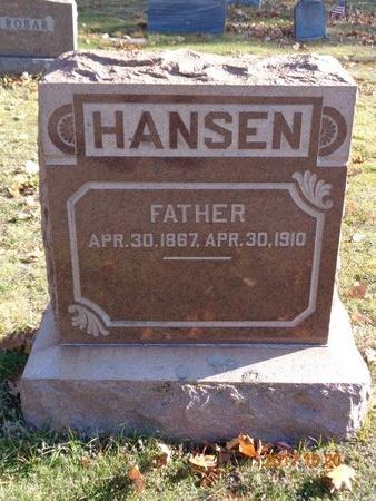 HANSEN, ROSS - Marquette County, Michigan | ROSS HANSEN - Michigan Gravestone Photos