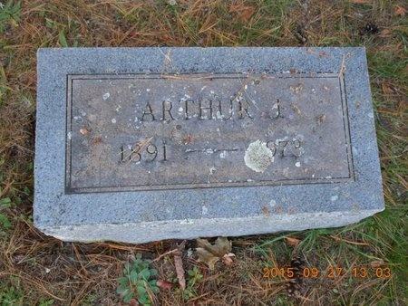 HANSON, ARTHUR J. - Marquette County, Michigan | ARTHUR J. HANSON - Michigan Gravestone Photos