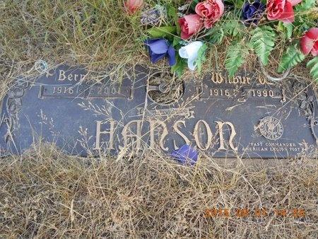 HANSON, WILBUR O. - Marquette County, Michigan | WILBUR O. HANSON - Michigan Gravestone Photos