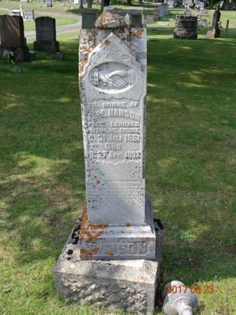 HANSON, FAMILY - Marquette County, Michigan | FAMILY HANSON - Michigan Gravestone Photos