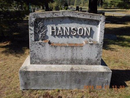HANSON, FAMILY - Marquette County, Michigan   FAMILY HANSON - Michigan Gravestone Photos
